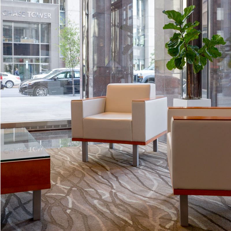 Relax and connect in the state-of-the-art lobby