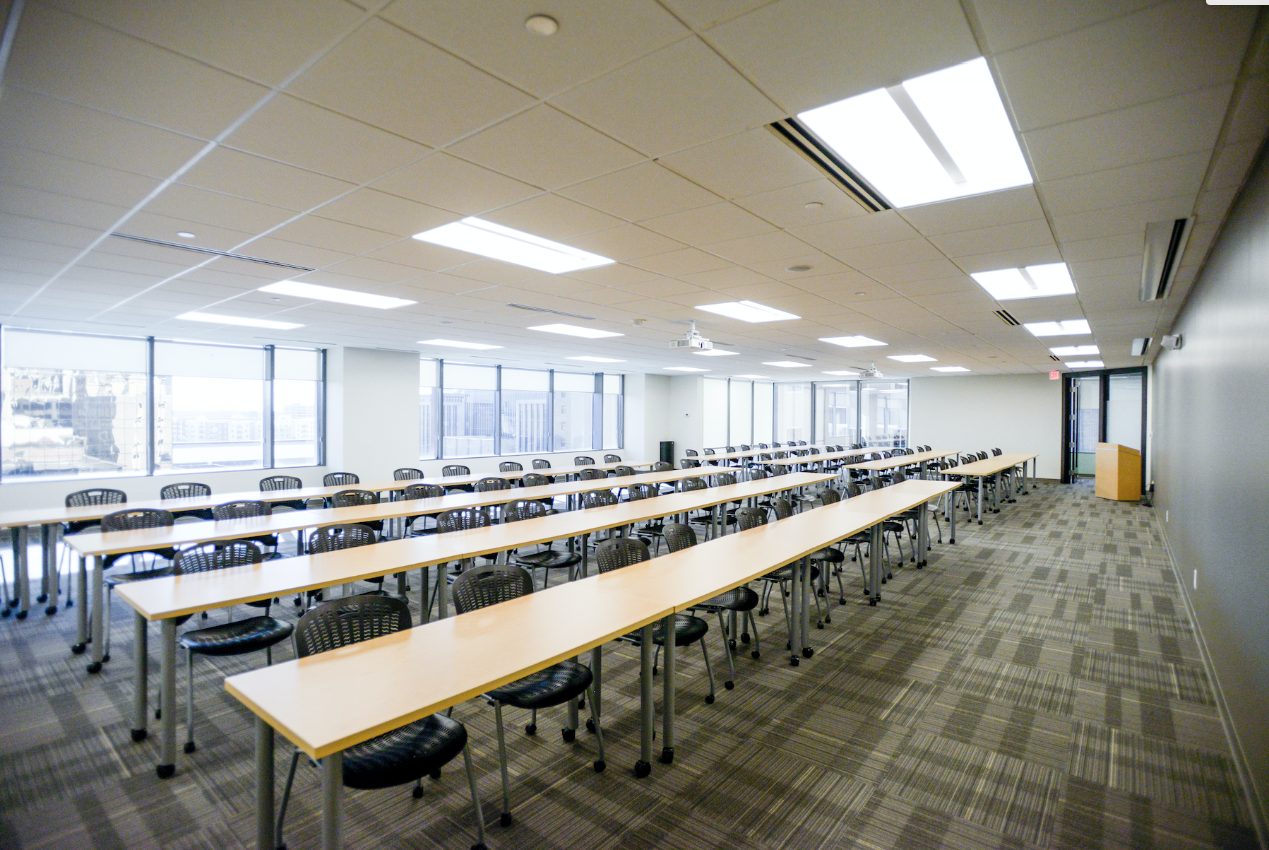 New, expansive conference center with more space where your company can get engaged