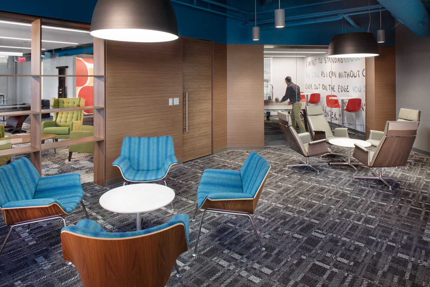 A reimagined lounge to reimagine the workday